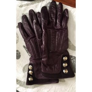 Henri bendel leather gloves size 7